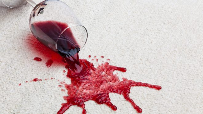 The Best Ways to Clean an Old Wine Stain from Carpet